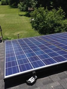 Annonay problème panneau solaire